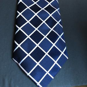 The Savile Row Company Made In Ireland Blue Tie